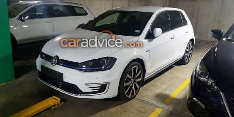 Volkswagen Golf GTE in Australia for evaluation and training