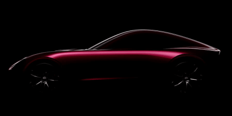 TVR coupe previewed with shadowy teaser, revealing artwork