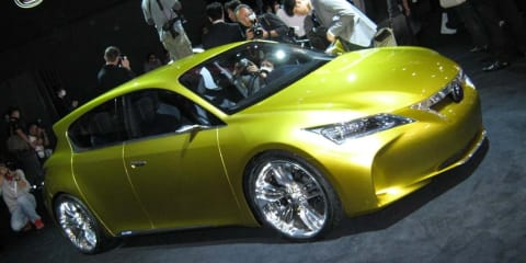 Lexus stand at Tokyo Motor Show