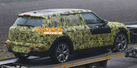 Mini Clubman: six-door wagon spied