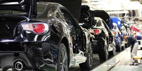 Subaru BRZ and Toyota 86 production starts