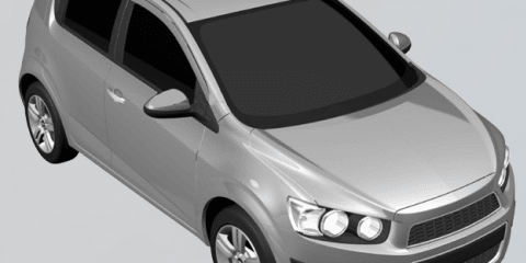 2011 Chevrolet Aveo patent images leaked