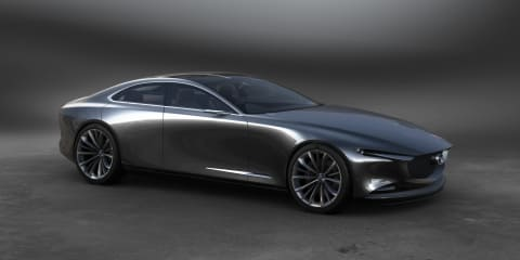 Mazda Vision Coupe concept showcases next-generation design language
