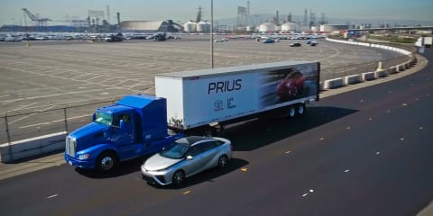 Toyota puts Project Portal fuel cell truck to the test