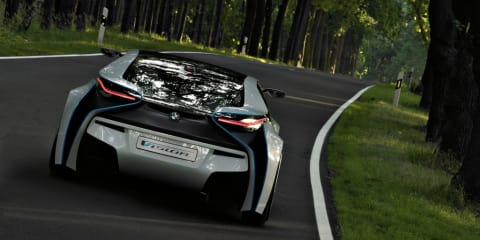BMW Vision revealed - first pictures