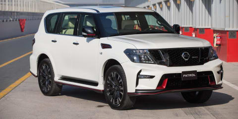 Nissan Patrol Nismo unveiled in the Middle East