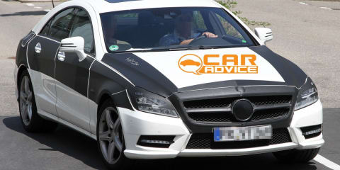 Mercedes-Benz CLS-Class with AMG Package Spy Photos