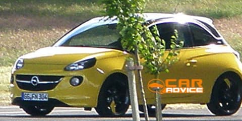 Opel Adam: city car revealed in photo shoot