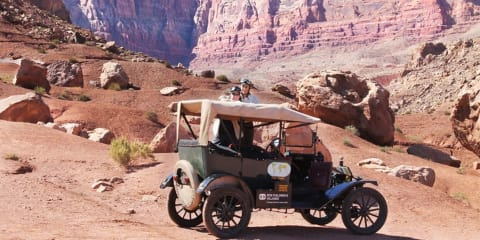 1915 Ford Model T attempting round-the-world trip hopes to finish in 2017