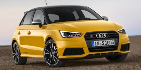 Audi S1 Quattro hot-hatch revealed : leaked images show potent new pint-sizer