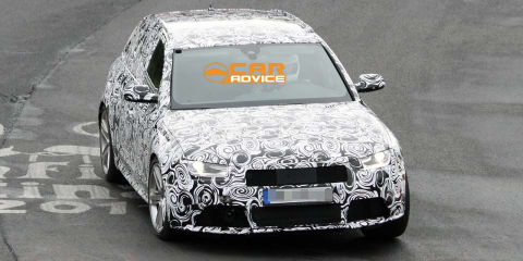 Audi RS4 Spy Photos