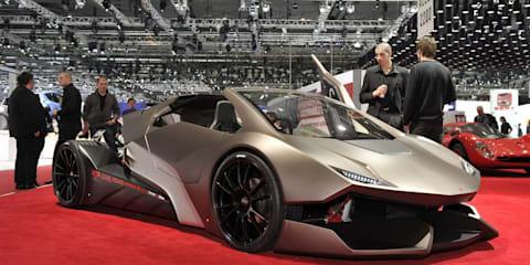 Sbarro Evoluzione unveiled at Geneva