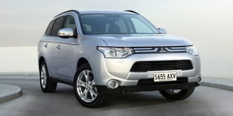 Mitsubishi Outlander updated for 2014