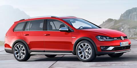 2015 Volkswagen Golf Alltrack unveiled