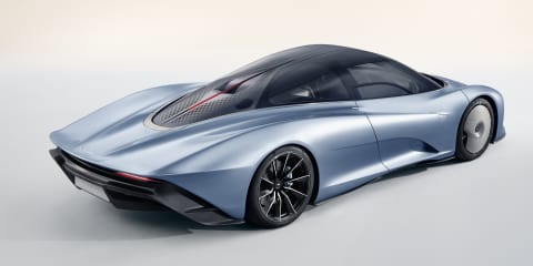 McLaren Speedtail: 403km/h Hyper-GT revealed