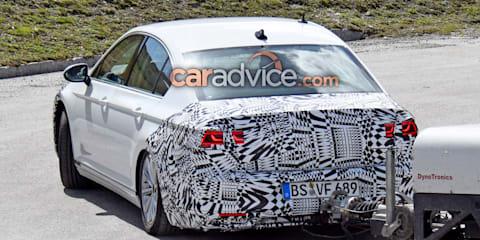 2019 Volkswagen Passat facelift spied