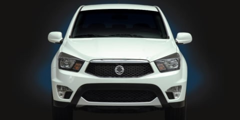 2012 Ssangyong Actyon Dual Cab (SUT-1) coming to Australia in Q2