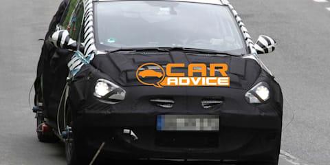 Hyundai MPV spy photos (HED-5 Concept)