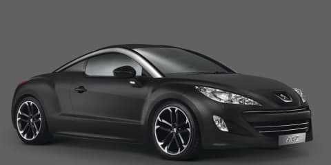 2010 Peugeot RCZ Asphalt edition images and details