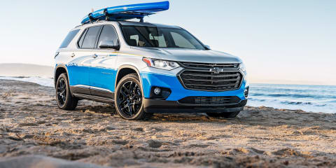 2018 Chevrolet Traverse SUP Concept revealed for SEMA