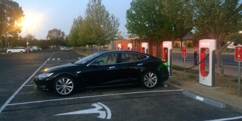 Tesla Model S Sydney to Melbourne road trip