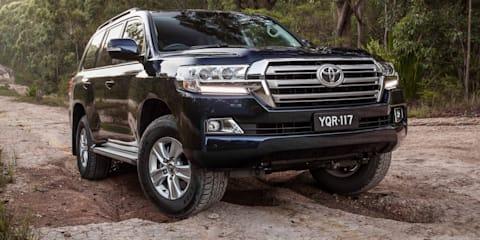 2017 Toyota LandCruiser Altitude on sale