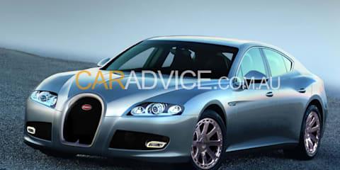 2013 Bugatti Bordeaux - spy pics
