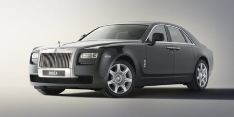 Rolls Royce 200EX concept revealed before Geneva