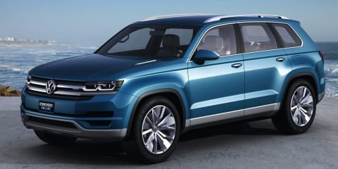 Volkswagen seven-seat SUV set for North American production