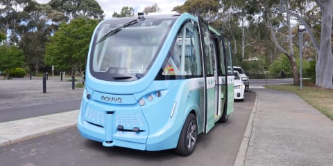 Victoria's first driverless shuttle enters service