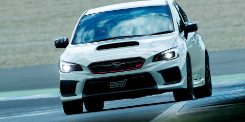 Subaru WRX STI Type RA-R revealed for Japan