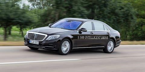 Mercedes-Benz S-Class drives 125km by itself