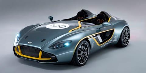Aston Martin CC100 Speedster Concept: exclusive world debut