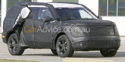 2011 Ford Explorer spy photos