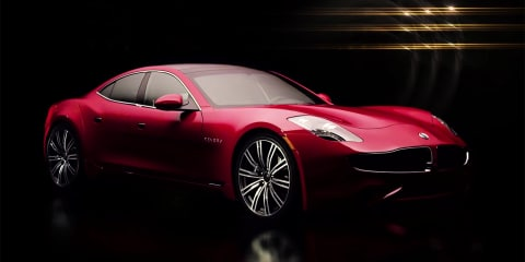 Karma Revero 'revealed':: Fisker-based plug-in to debut in September - video