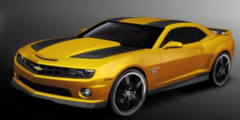 2012 Chevrolet Camaro Transformers Special Edition Coupe