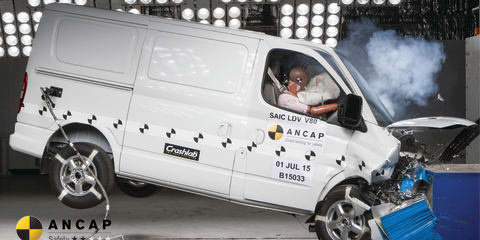 LDV V80 two-star ANCAP rating sparks war of words
