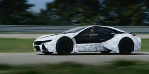 Video: 2013 BMW Project i Vision EfficientDynamics driving prototype