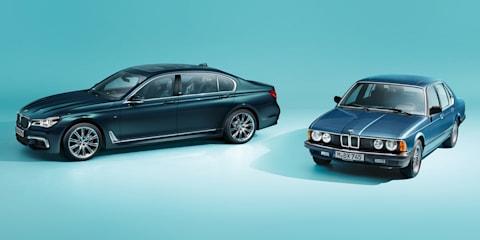 BMW 7 Series 40 Jahre Edition bound for Australia