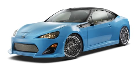 Scion FR-S T1: Toyota 86 targa heading to SEMA