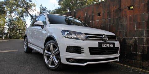 2014 Volkswagen Touareg V8 TDI R-line Review