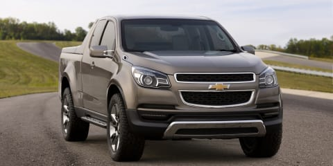2012 Holden Colorado revealed ahead of Bangkok premiere
