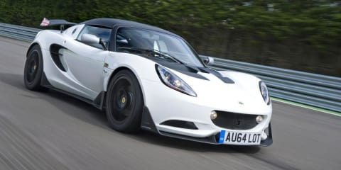 Lotus Elise S Cup : Street-legal track-focused sports car confirmed