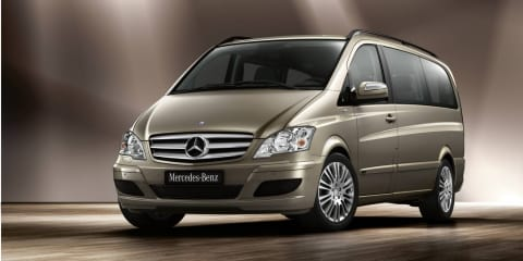 2010 Mercedes-Benz Viano update
