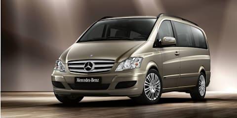 2010 Mercedes-Benz Viano update