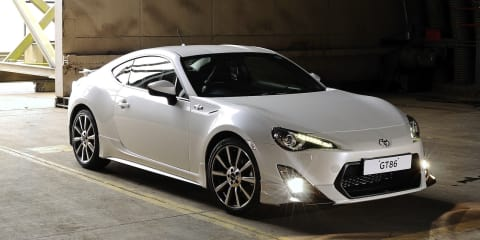 Toyota 86 TRD: limited edition model set for UK release