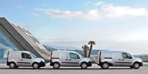 Renault Master, Renault Trafic and Renault Kangoo van ranges all updated
