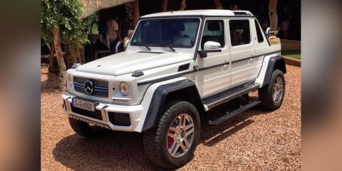 2017 Mercedes-Maybach G650 Landaulet convertible SUV leaked
