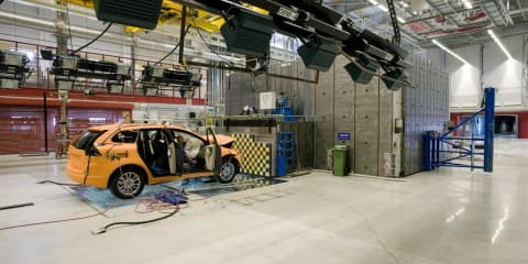 Volvo crash test laboratory turns 10