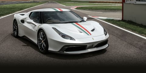 Ferrari 458 MM Speciale one-off revealed